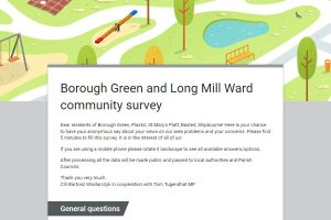 Borough Green and Long Mill Community Survey 2019 by Bartosz Wlodarczyk