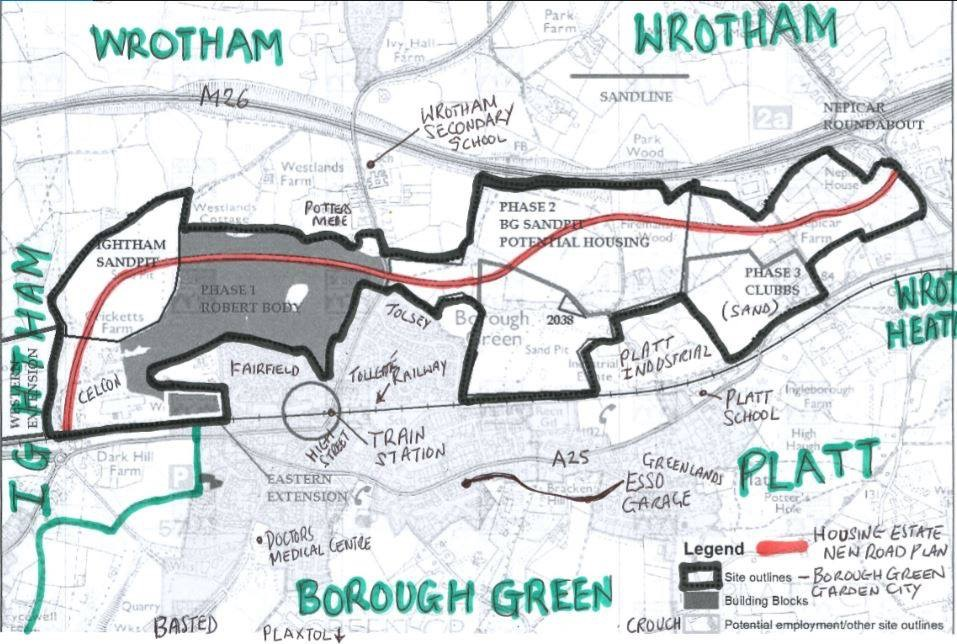 Borough Green Garden City Plans